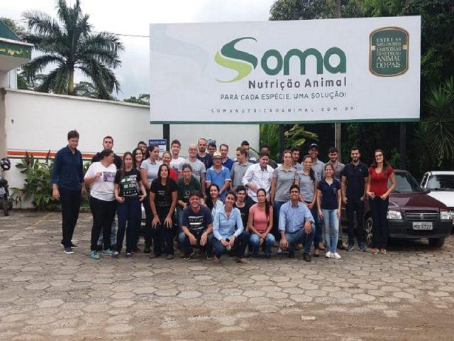 Soma recebe a visita de alunos da UFV